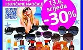 Kozmo srijeda – 30% popusta na sve proizvode za sunčanje i sunčane naočale