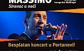 Besplatan koncert – Massimo!
