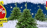 Baumax vikend akcija božićna drvca