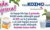 Kozmo akcija -30%