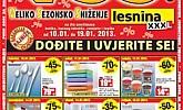 Lesnina katalog sniženje Split, Rijeka, Varaždin