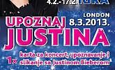 Kozmo nagradna igra Justin Bieber