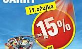 Baumax akcija -15% na SVE!