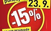 Baumax akcija -15% popusta na sve