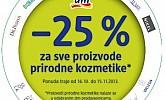 DM akcija -25% na prirodnu kozmetiku