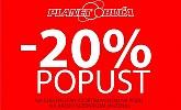 Planet obuća akcija -20% na sve!