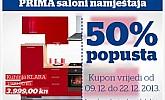 Prima kupon -50% na Klara kuhinju