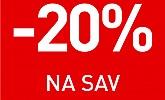 Kika vikend akcija -20% na sve