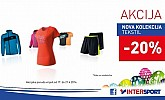 Intersport tekstil popust -20%