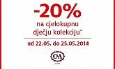 C&A popust -20% na dječju kolekciju!