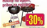 Mercator roštilj&pribor popust 30%
