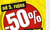 Baumax popust -50% na sve!