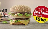 McDonalds Big Mac vikend za 10kn