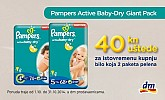 DM Pampers popust
