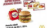 Mc Donalds kuponi studeni 2014