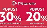 Pittarello akcija -30% popusta