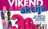 Kozmo vikend akcija -30% na Fa i Schwarzkopf