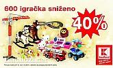 Kaufland akcija igračke -40%