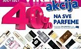 Kozmo vikend akcija parfemi -40% popust