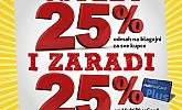 Uštedi 25% i zaradi 25% uz MultiPlusCard