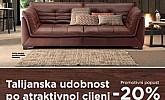 Lesnina katalog Natuzzi ožujak 2015