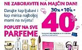 Kozmo vikend akcija -40% svi parfemi