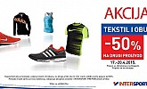 Intersport akcija -50% popusta na drugi proizvod