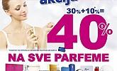 Kozmo vikend akcija -40% parfemi