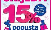 Kozmo srijeda -15% na ukupnu kupnju
