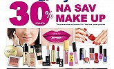 Kozmo vikend akcija -30% na sav Make up