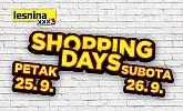 Lesnina Shopping Days 25.9. i 26.9.