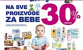 Kozmo vikend akcija -30% sve za bebe