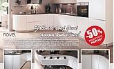 Lesnina katalog Kuhinje Novel do 26.10.