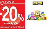 Lesnina sve igračke -20%
