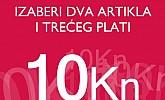 Pittarosso akcija Izaberi dva artikla treći plati 10 kuna