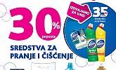 Kozmo vikend akcija -30% popusta sve za čišćenje