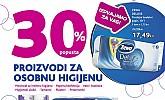Kozmo vikend akcija -30% popusta higijena