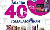 Kozmo srijeda -40% popusta Loreal asortiman