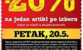Konzum kupon Biraj svoju akciju -20% popusta