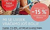 DM katalog Portanova Osijek otvorenje
