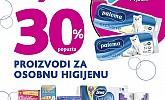 Kozmo srijeda -30% popusta osobna higijena