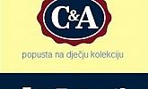 C&A akcija -20% dječju kolekciju