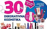 Kozmo vikend akcija -30% na dekorativnu kozmetiku