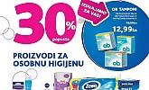 Kozmo vikend akcija -30% osobna higijena
