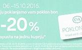 C&A poklon kupon -20% popusta