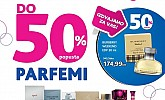 Kozmo vikend akcija do -50% parfemi