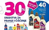 Kozmo vikend akcija -30% sredstva za pranje i čišćenje