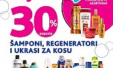 Kozmo srijeda -30% popusta na šapone, regeneratore i ukrase za kosu