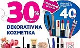 Kozmo vikend akcija -30% popusta dekorativna kozmetika