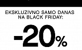 Orsay akcija Black Friday